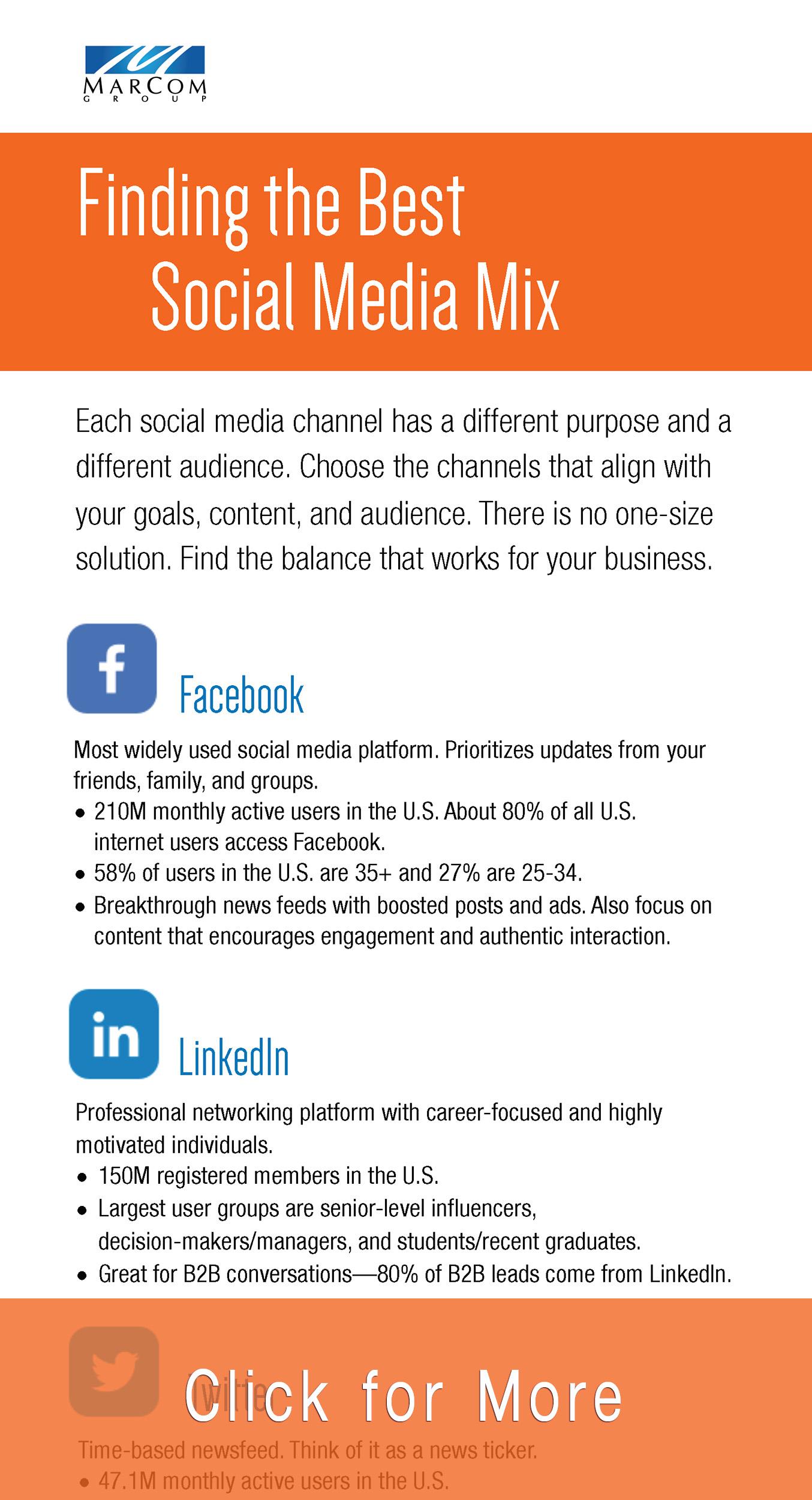 Social Media Platform Overview Teaser